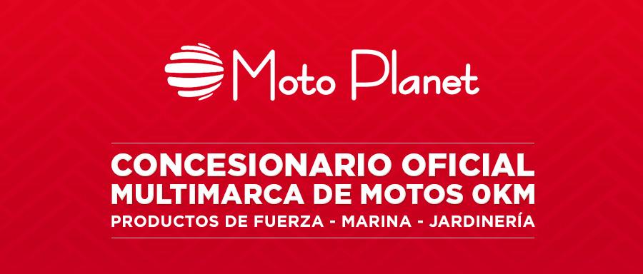 Moto Planet. Concesionario Oficial Multimarca de Motos 0Km. Productos de fuerza - Marina - Jardinería - Motos 0km